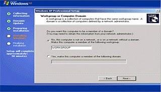 Cara Install Windows XP Beserta Gambarnya Lengkap