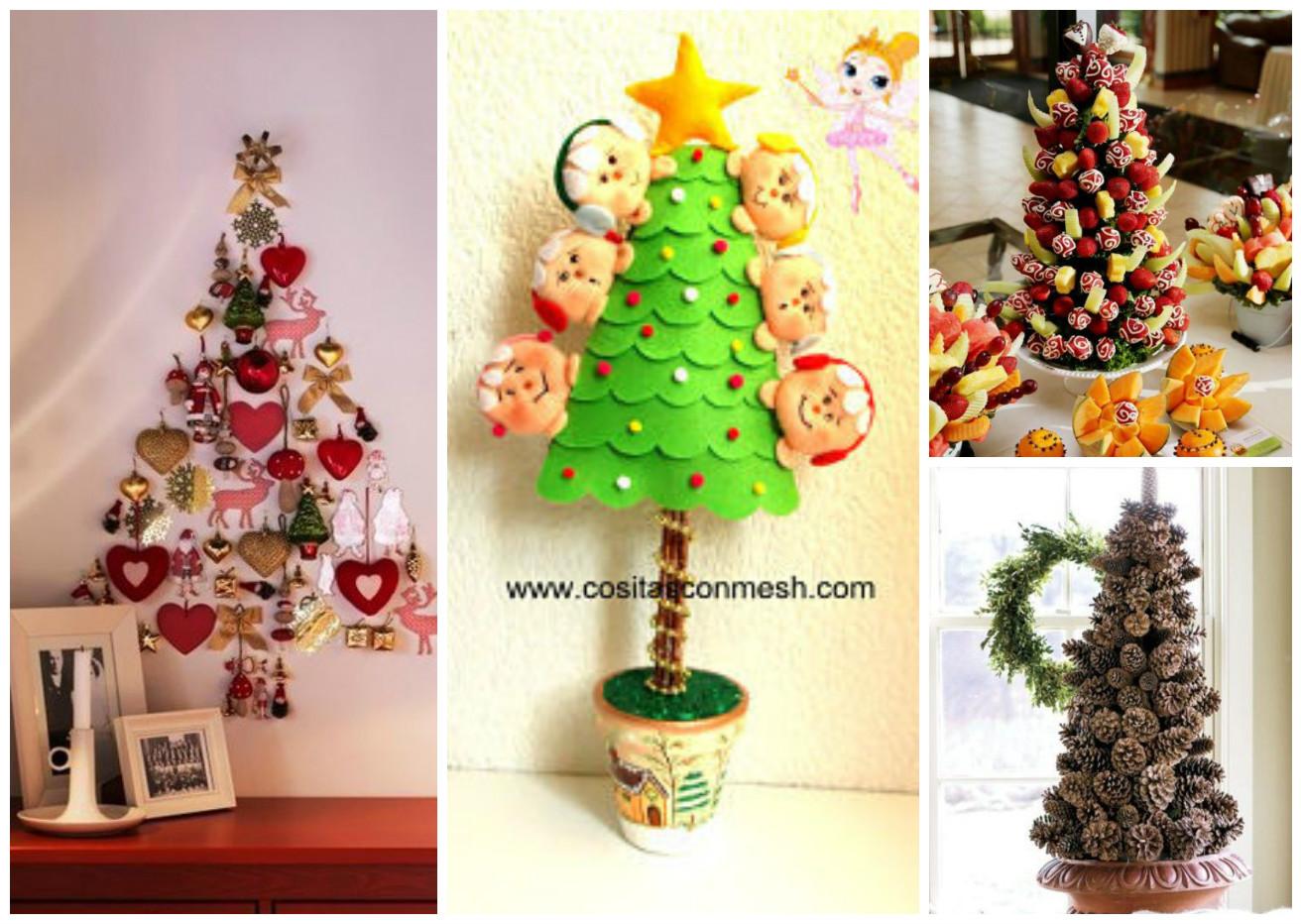 Ideas de como hacer arboles navide os para decorar tu for Ideas decorativas hogar