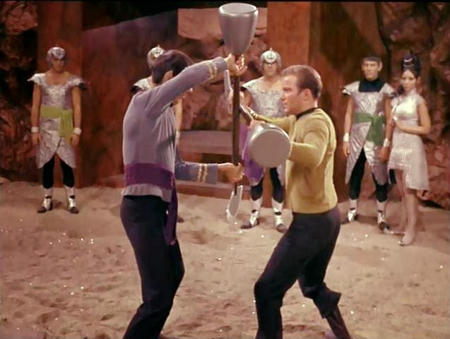 star trek kirk spock fight to death