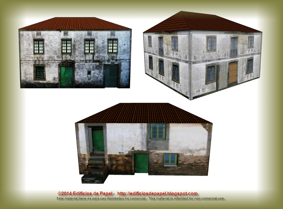 Several designs for these old country houses