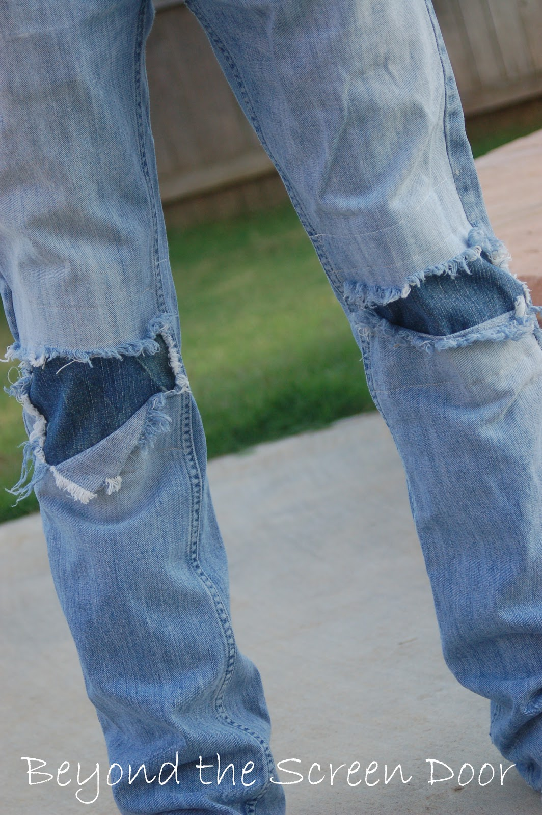 how to patch jeans without loosing the cool factor sonya