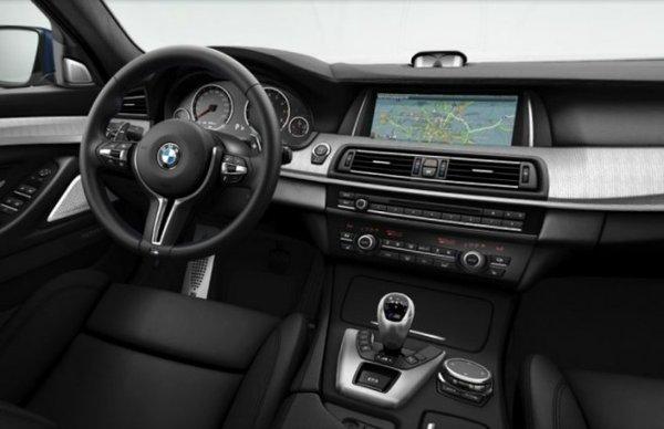 Салон нового BMW M5 2013 года