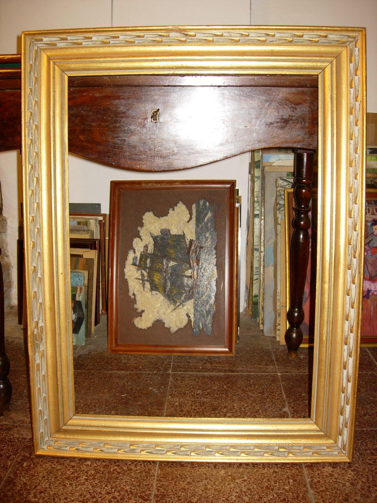 Antig edades fern ndez muebles espejos marcos - Marcos espejos antiguos ...