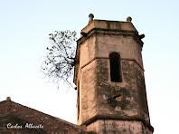 Campanar de l'església de Sant Vicenç de Riells del Fai. Autor: Carlos Albacete