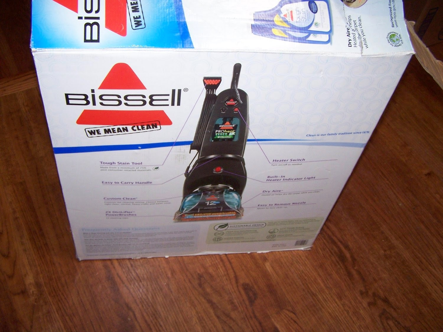 bissell proheat turbo 2x
