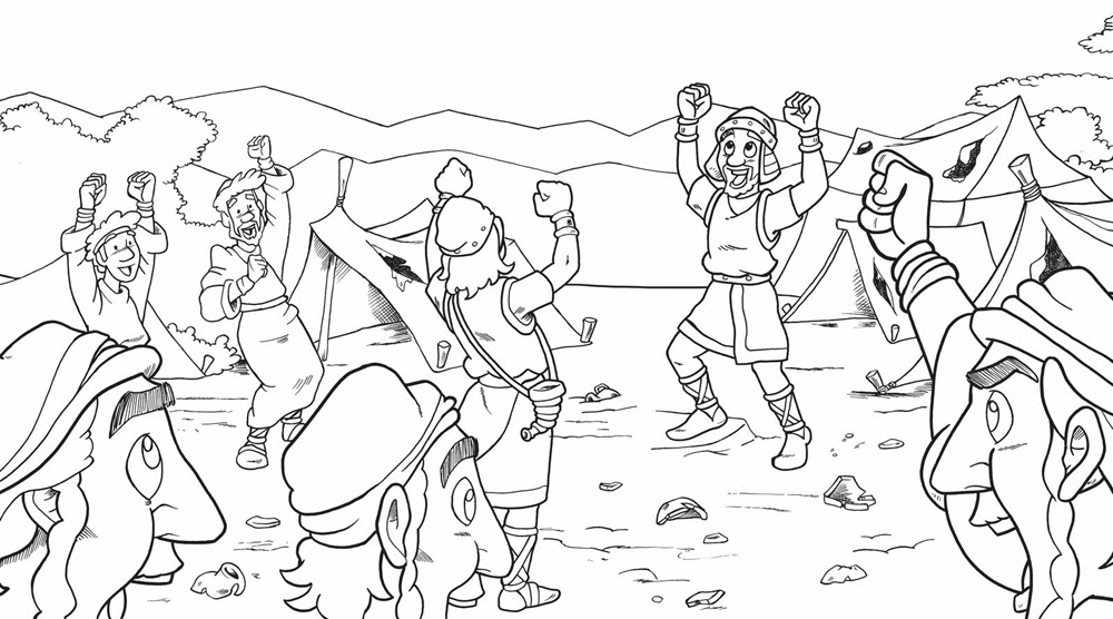Dltk Bible Story Coloring Pages