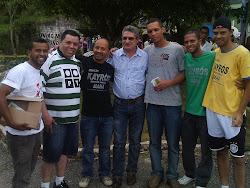 Osnir se reune com Lideranças Politicas e Espirituais da Regiao de Francisco Morato da Marcha