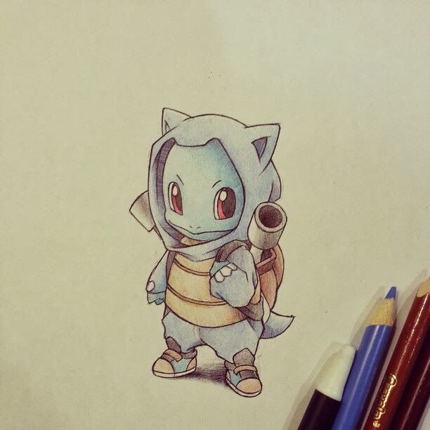 Itsbirdy, cute pokemon drawing