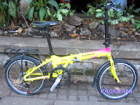 Sepeda Lipat Element Platinum Rangka Aloi 20 Inci 2