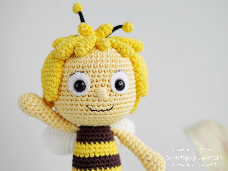 Amigurumi Bear Maya : Smartapple Creations - amigurumi and crochet: Maya the Bee