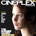 Hunger Games Star Jennifer Lawrence in the March 2012 Issue of Cineplex Magazine