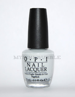 OPI My Boyfriend Scale Walls