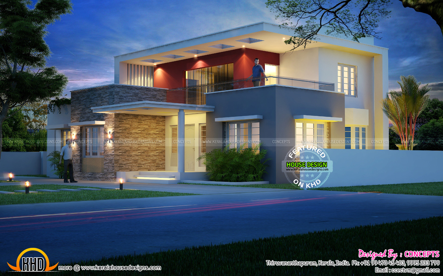 June 2015 kerala home design and floor plans for House and design