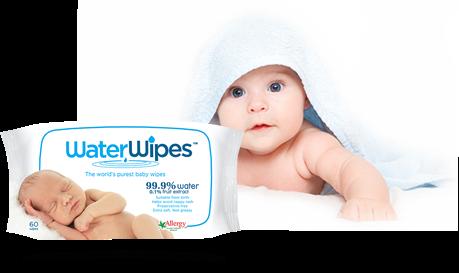 Échantillon de lingettes de WaterWipes pour bébé
