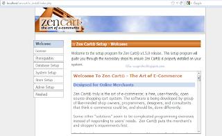 instalasi zencart part 2