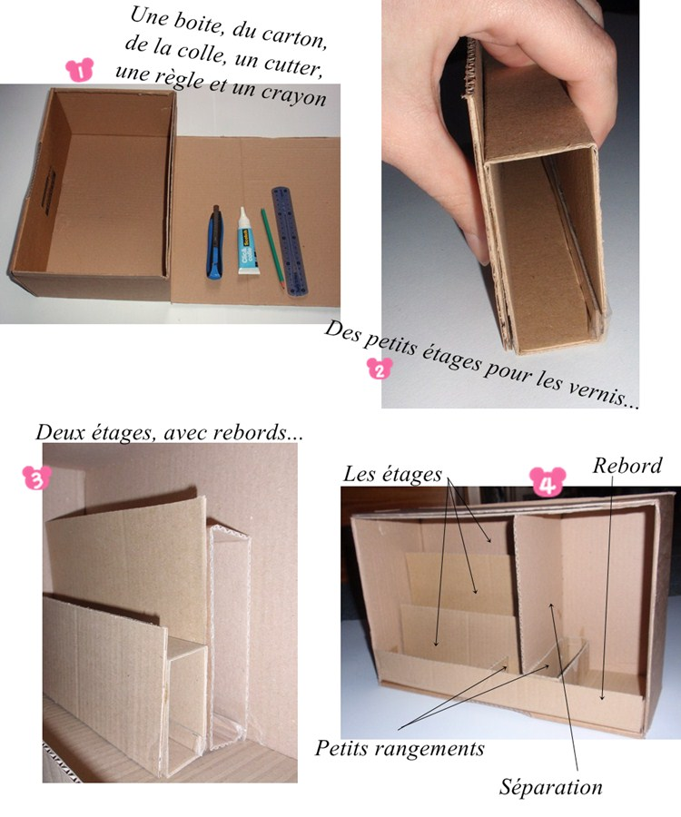 diy un rangement vernis ongles caro dels blog diy et loisirs cr atifs. Black Bedroom Furniture Sets. Home Design Ideas