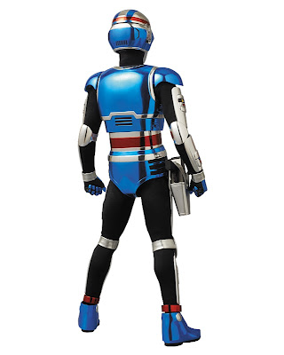 "Medicom RAH DX Space Sheriff Shaider 12"" figure"