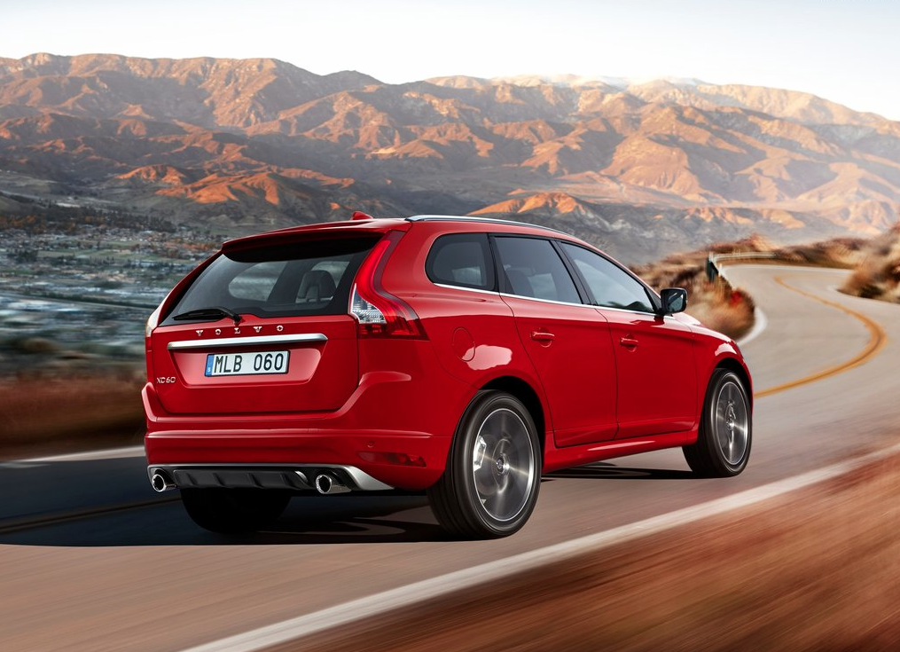 2015 Volvo XC60 R Design Red