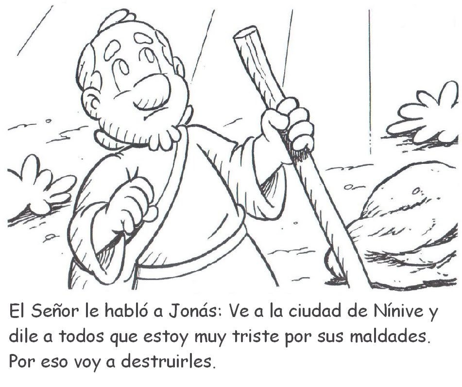 Jonas Para Colorear | www.imagenesmy.com