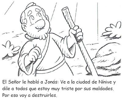 Para Colorear Y Confeccionar El Libro De La Historia De Jon  S