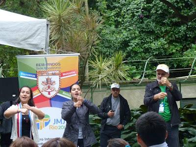#JMJRio2013: Jovens de todo o mundo se reúnem no Encontro Internacional da JM