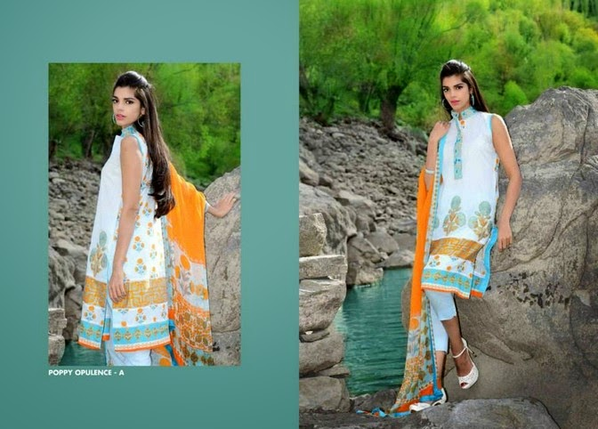 WardaSaleemLawn2014ByShariqTextile wwwfashionhuntworldblogspot 10  - Warda Saleem Lawn Collection 2014 By Shariq Textile