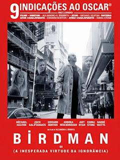 Birdman ou (A Inesperada Virtude da Ignorância) - BDRip Dual Áudio