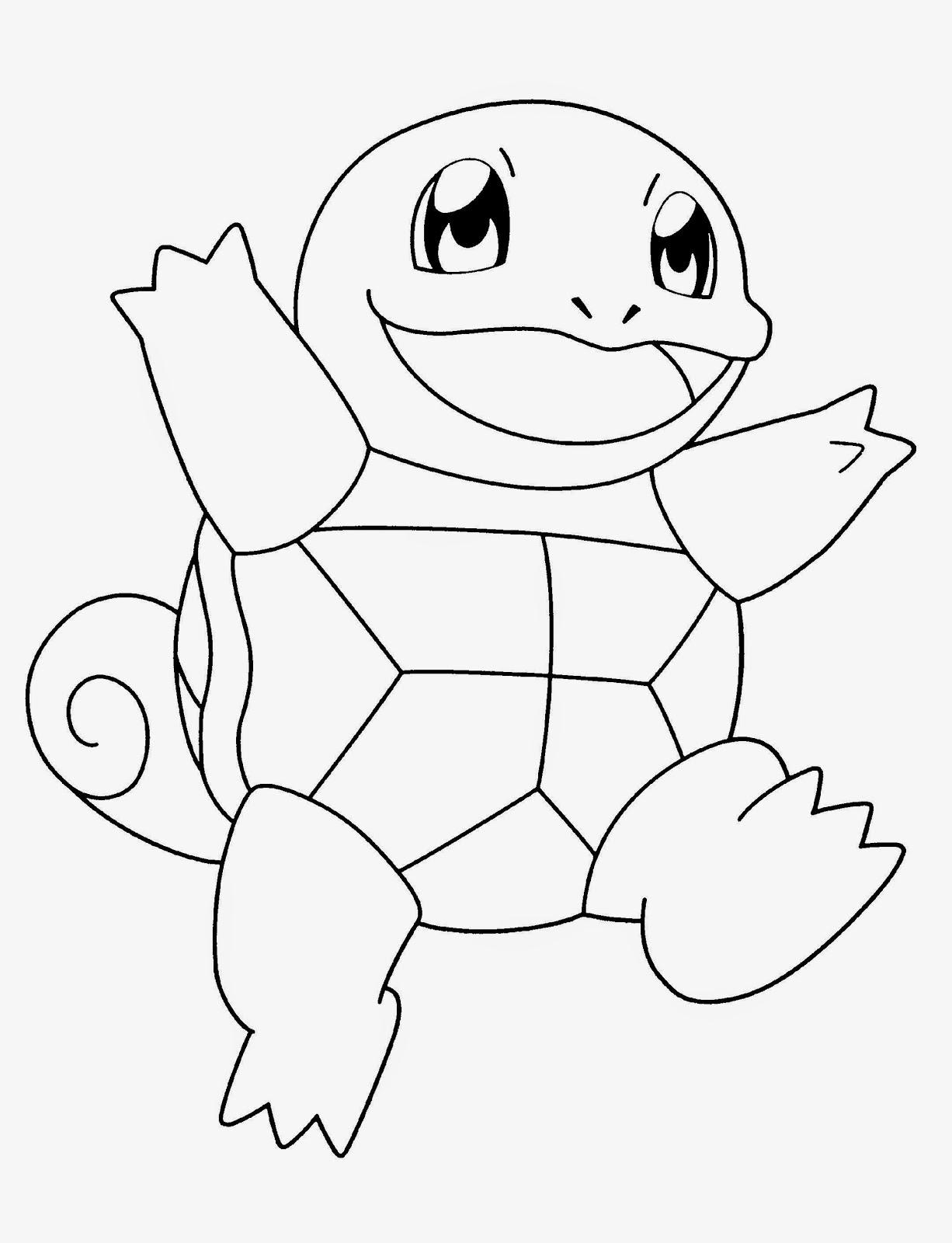 New Pokemon Coloring Pages Black White Page 1 Simple Coloring Pages