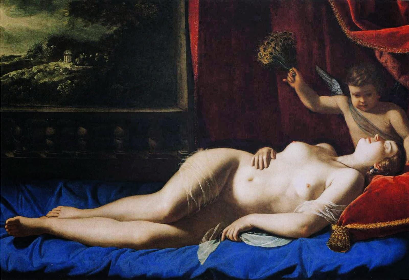Venus dormida (Artemisia Gentileschi, ca. 1625-30)