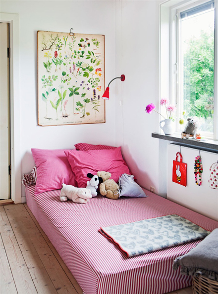 build house home sweet and simple vintage bedroom