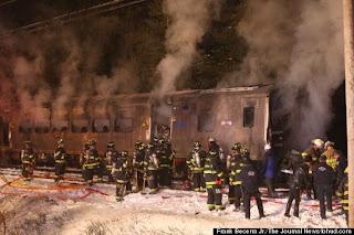 Au moins sept morts dans un accident de train en banlieue de New York