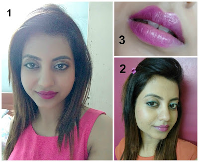AVON Ultra Color Lipstick Hot Pink Review Swatch Details Price