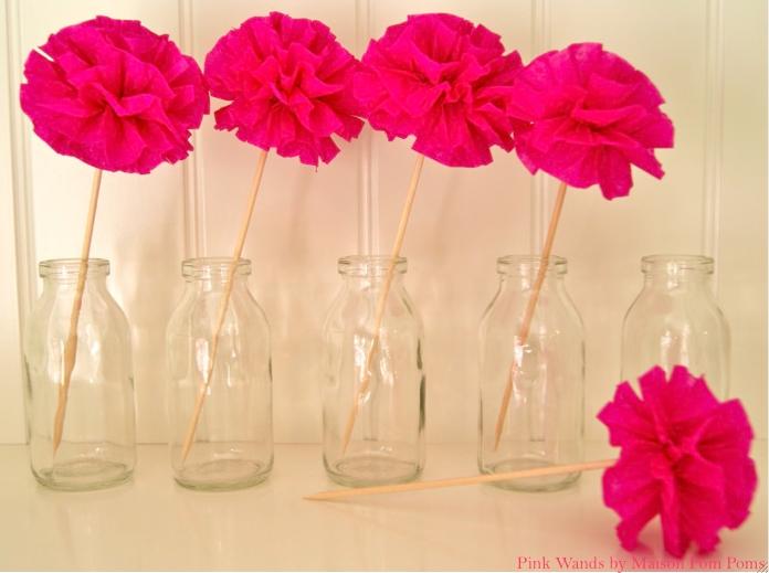 Tatamba blog de decoraci n c mo hacer pompones para - Decorar con papel ...