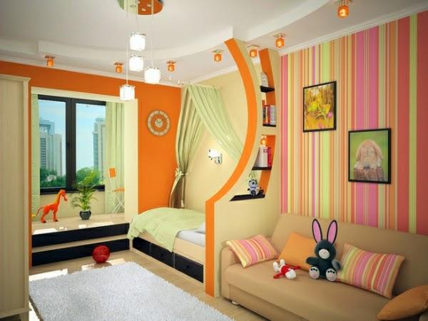 Dise os de cuartos para dos ni os dormitorios colores y - Como distribuir una habitacion con dos camas ...