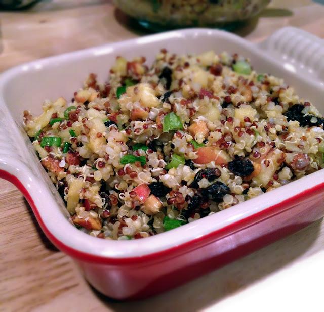 Apple almond quinoa recipe