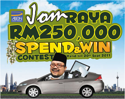 AEON 'Jom Raya - Spend & Win' Contest