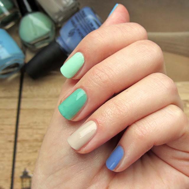 Radosny, letni manicure ♥