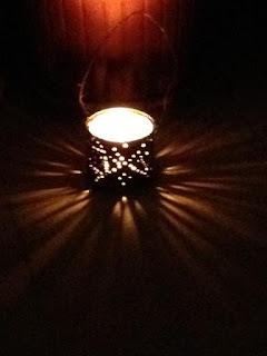 diy morrocan lantern