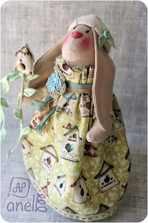 тильда, заяц, ручная работа, handmade
