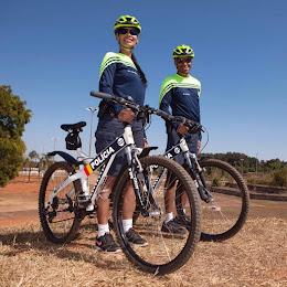 Unidades de Policiamento com Bicicleta á aplicação da lei sobre duas rodas.
