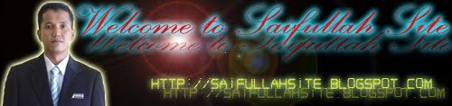 welcome to saifullah site
