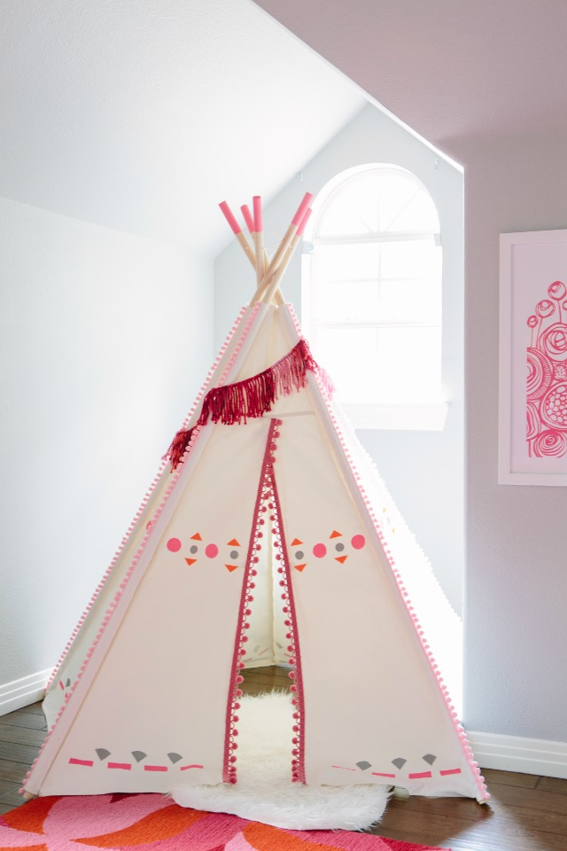 DIY Teepee || Design Improvised blog