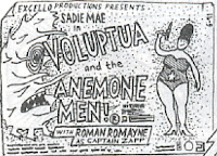 Panel from All Right: Voluptua and the Anemone Men
