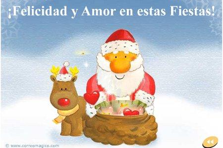 Amor y tinta tarjetas y postales de navidad - Tarjetas de navidad de ninos ...