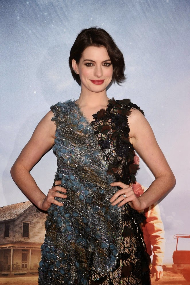 Anne Hathaway: Interstellar NY Premiere