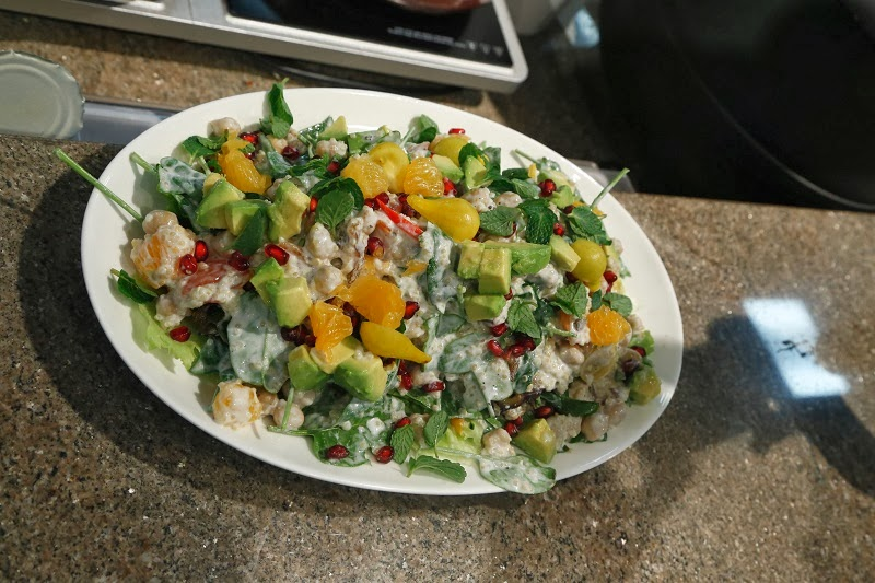 Quinoa & avocado salad,