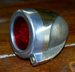BRONZE BODY/ALU RIM TAIL LAMP