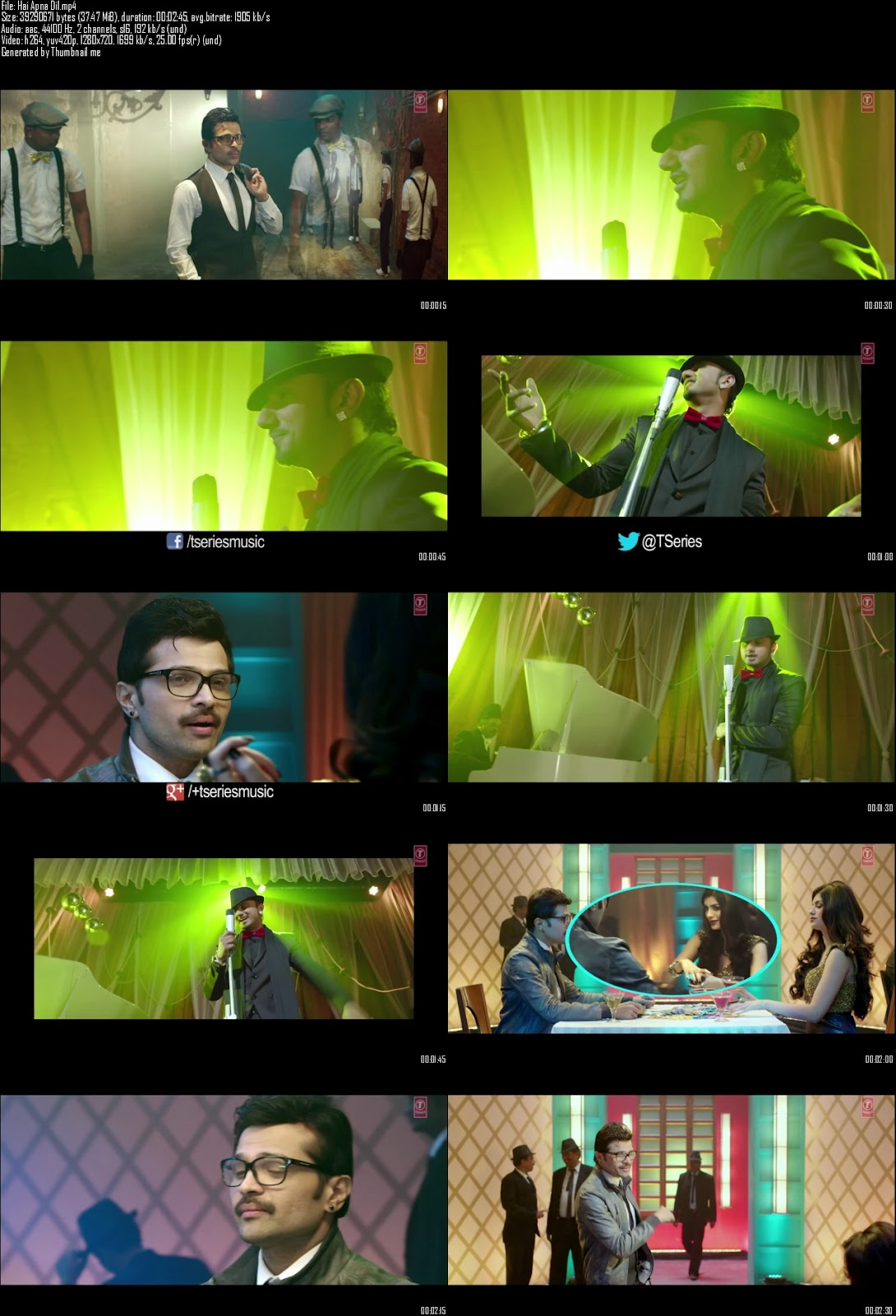 Mediafire Resumable Download Link For Video Song Hai Apna Dil - The Xpose (2014)