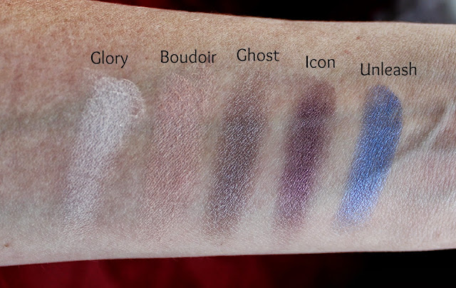 MUA Smokin Palette swatch