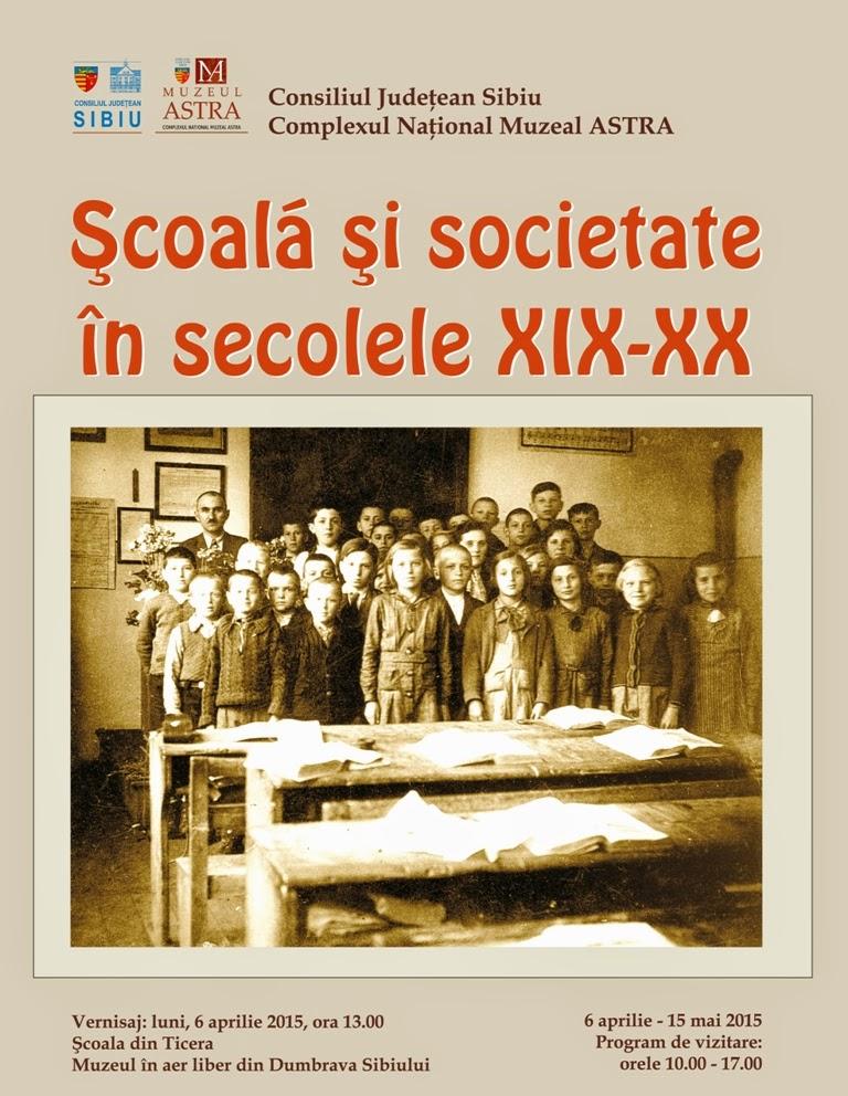 Școală și societate în secolele XIX - XX